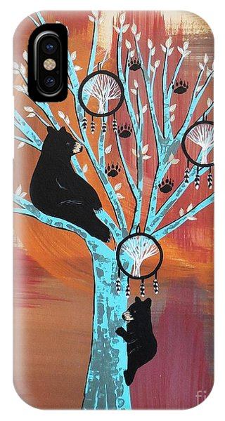Mother Bear's Tree Of Life IPhone Case