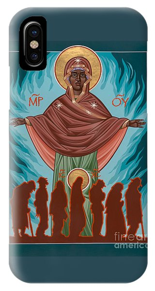 Mother Of Sacred Activism With Eichenberg's Christ Of The Breadline IPhone Case