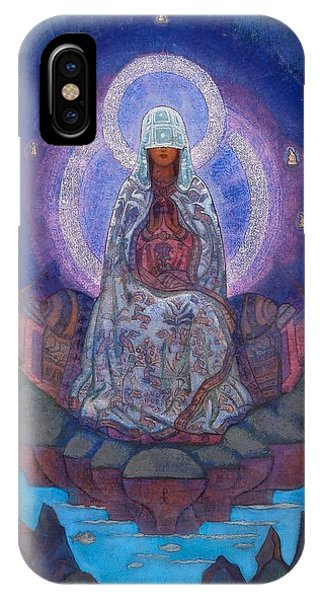 Old World iPhone Case - Mother Of The World by Nicholas Roerich