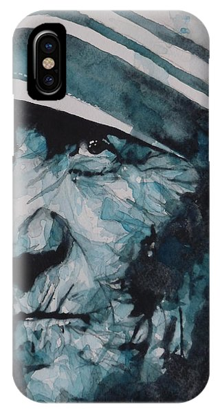 Prayer iPhone Case - Mother Teresa by Paul Lovering
