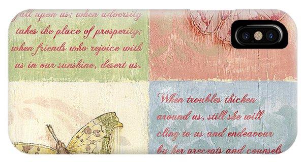 Spa iPhone Case - Mothers Day Butterfly by Debbie DeWitt