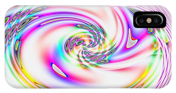 Mother's Love Modern Abstract Art IPhone Case