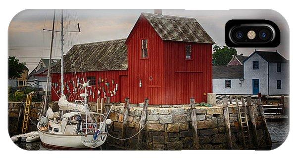 Motif iPhone Case - Motif 1 - Rockport Harbor by Stephen Stookey