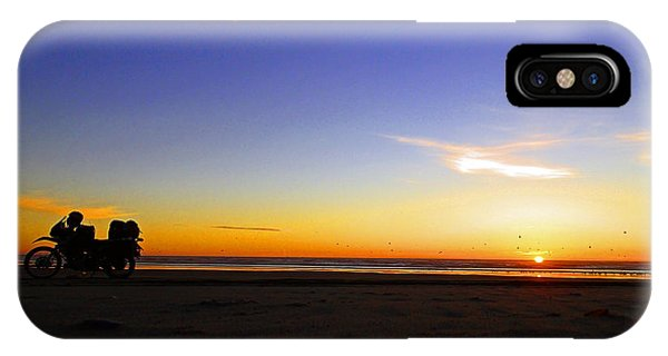 Moto Silhouette IPhone Case