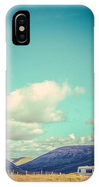 Caravan iPhone Case - Motorhome Or Rv Holiday by Mr Doomits