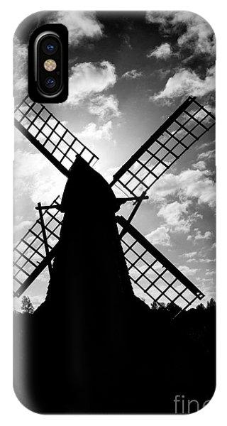 Moulin Noir- Monochrome IPhone Case