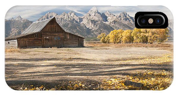 Moulton Barn Autumn IPhone Case