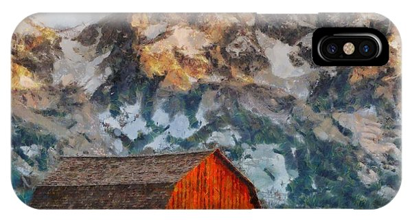 Moulton Barn IPhone Case