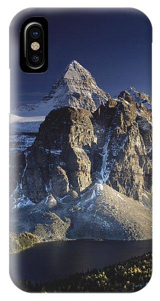 Mount Assiniboine And Sunburst Lake IPhone Case