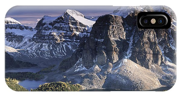 Mount Assiniboine In The Fall IPhone Case