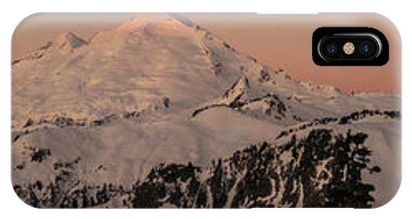 Heather iPhone Case - Mount Baker Majestic by Mike Reid
