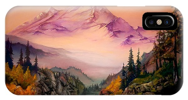 Mount Baker Morning IPhone Case
