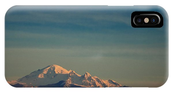 Mount Baker Sunset IPhone Case