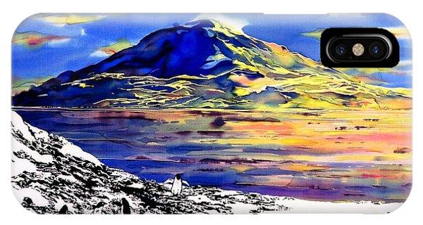 Mount Erebus Antarctica IPhone Case