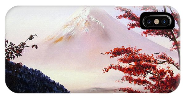Mount Fuji IPhone Case