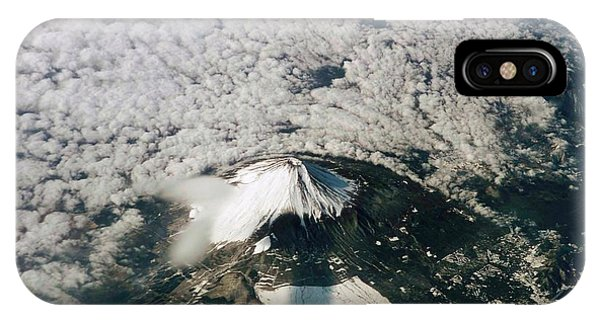 Spaceflight iPhone Case - Mount Fuji by Nasa