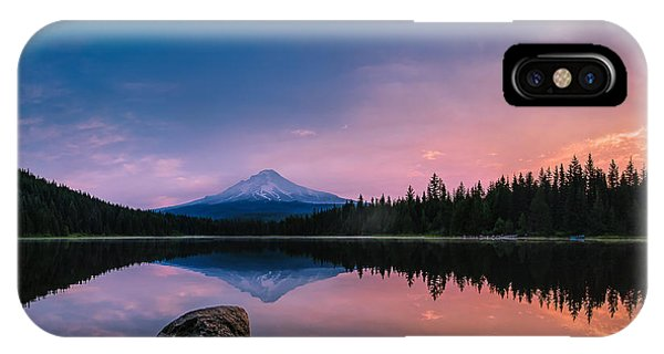 Mount Hood Magic IPhone Case