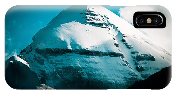 Mount Kailash Home Of The Lord Shiva IPhone Case