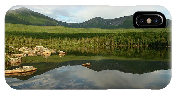 Mount Katahdin IPhone Case