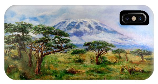 Mount Kilimanjaro Tanzania IPhone Case