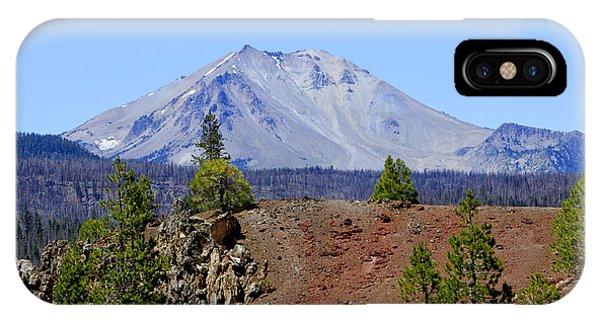 Mount Lassen IPhone Case
