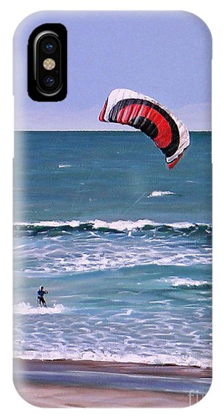 Mount Maunganui 160308 IPhone Case