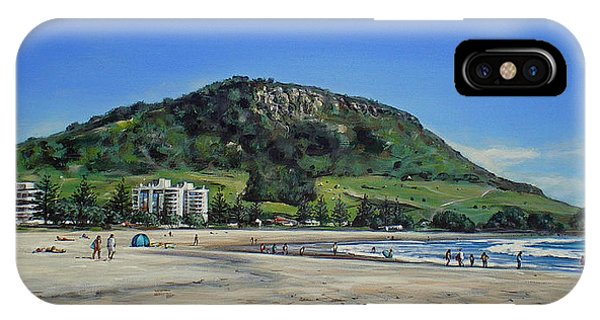 Mount Maunganui Beach 151209 IPhone Case
