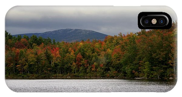 Mount Monadnock Fall 2013 View 1 IPhone Case