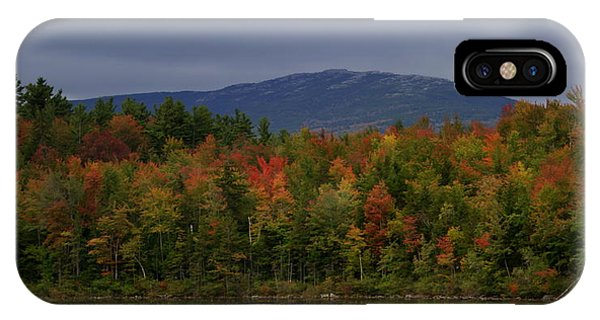 Mount Monadnock Fall 2013 View 2 IPhone Case