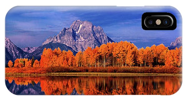 Mount Moran And Fall Color Grand Tetons IPhone Case