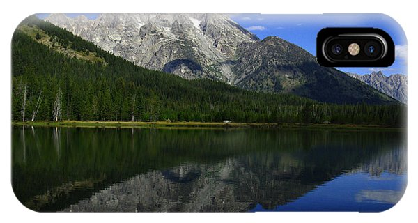 Mount Moran And String Lake IPhone Case
