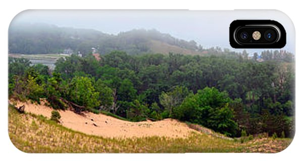Michelle iPhone Case - Mount Pisgah In The Fog by Michelle Calkins