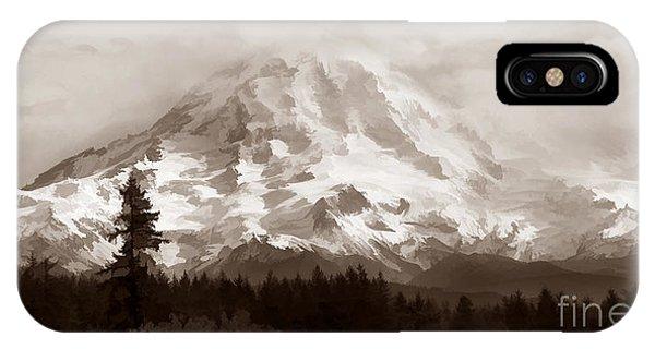 Mount Rainer IPhone Case