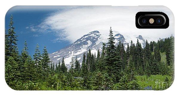 Mount Rainier Forest IPhone Case