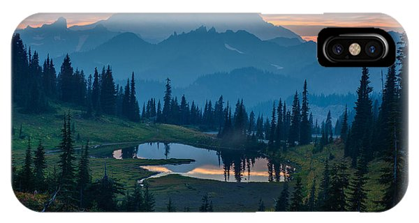 Mount Rainier Layers IPhone Case
