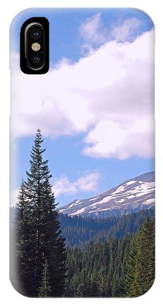 Mount Rainier National Park IPhone Case
