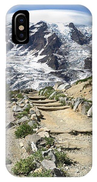 Mount Rainier Trail IPhone Case
