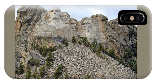 Mount Rushmore In South Dakota IPhone Case