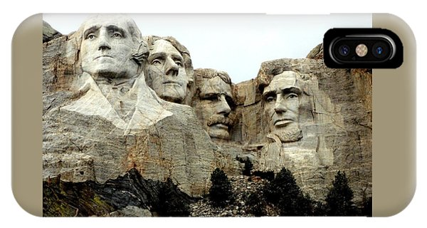 Mount Rushmore Presidents IPhone Case