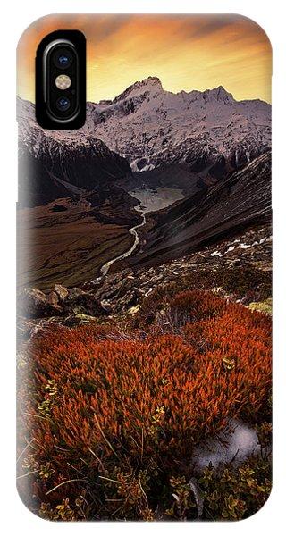 Mount Sefton IPhone Case