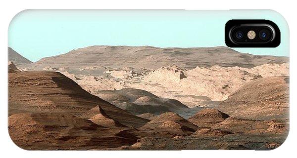 Solar System iPhone Case - Mount Sharp by Nasa/jpl-caltech/msss