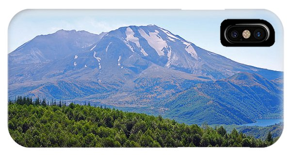 Mount St. Helens And Castle Lake In August IPhone Case