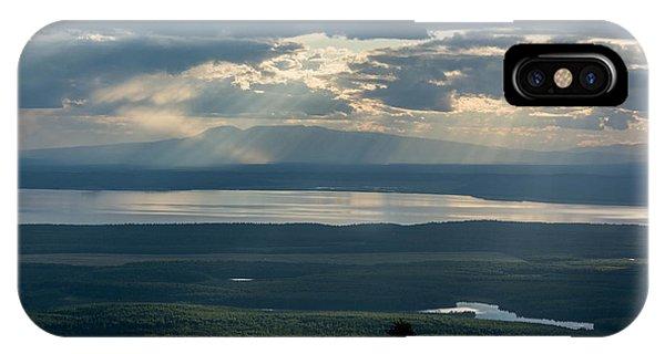 Mount Susitna IPhone Case