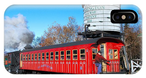 Mount Washington Cog Railway Car 6 IPhone Case