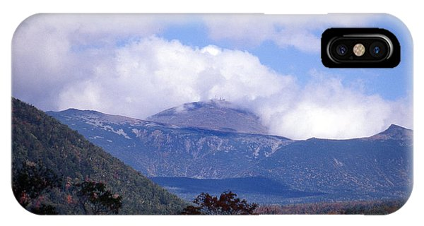 New Hampshire iPhone Case - Mount Washington by Skip Willits