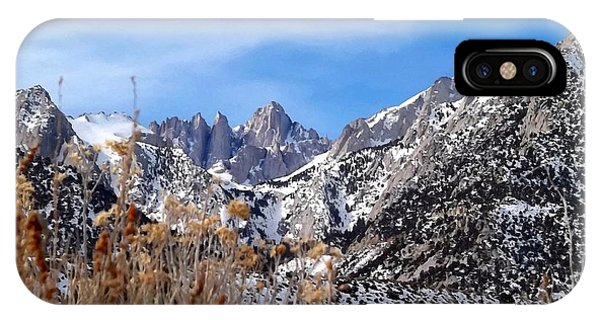 Mount Whitney - California IPhone Case