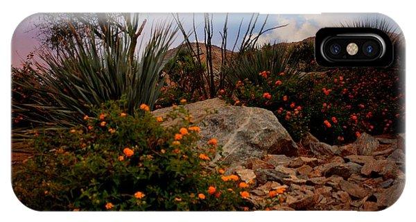 Sherri iPhone Case - Mountain Beauty In Rancho Mirage Ca. by Sherri's - Of Palm Springs