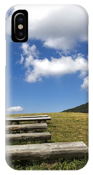Mountain Benches IPhone Case