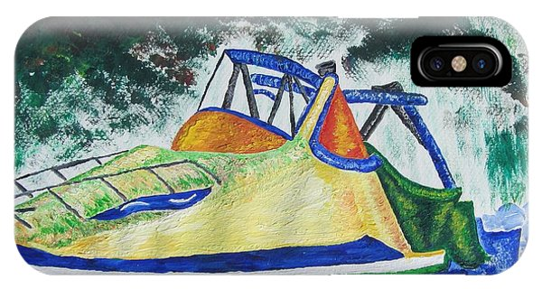 Mountain Boating Phone Case by Debbie Nester