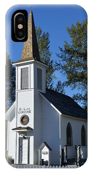 Mountain Chapel IPhone Case